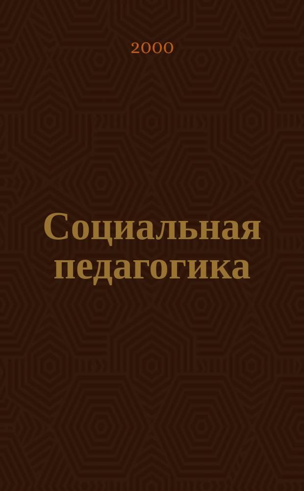 Социальная педагогика: проблемы и перспективы : Межвуз. сб. науч. тр