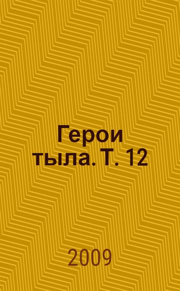 Герои тыла. Т. 12 : Мечетлинский, Мишкинский, Миякинский, Нуримановский районы, город Нефтекамск