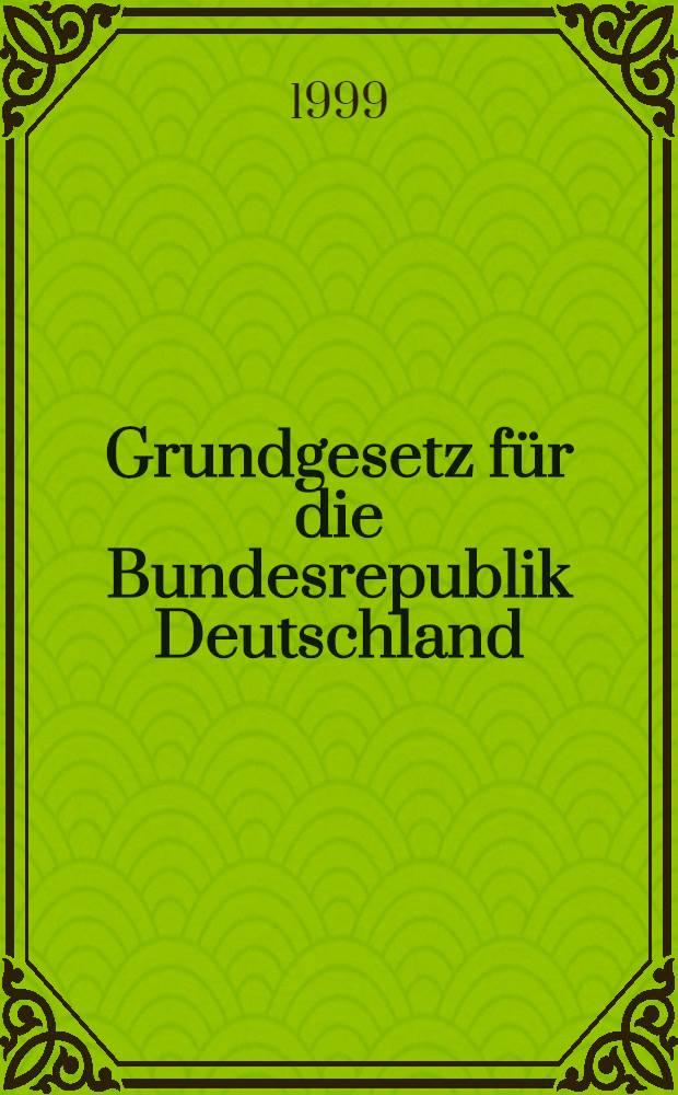 Grundgesetz für die Bundesrepublik Deutschland : Niedersächsische Verfassung = Основной закон ФРГ.