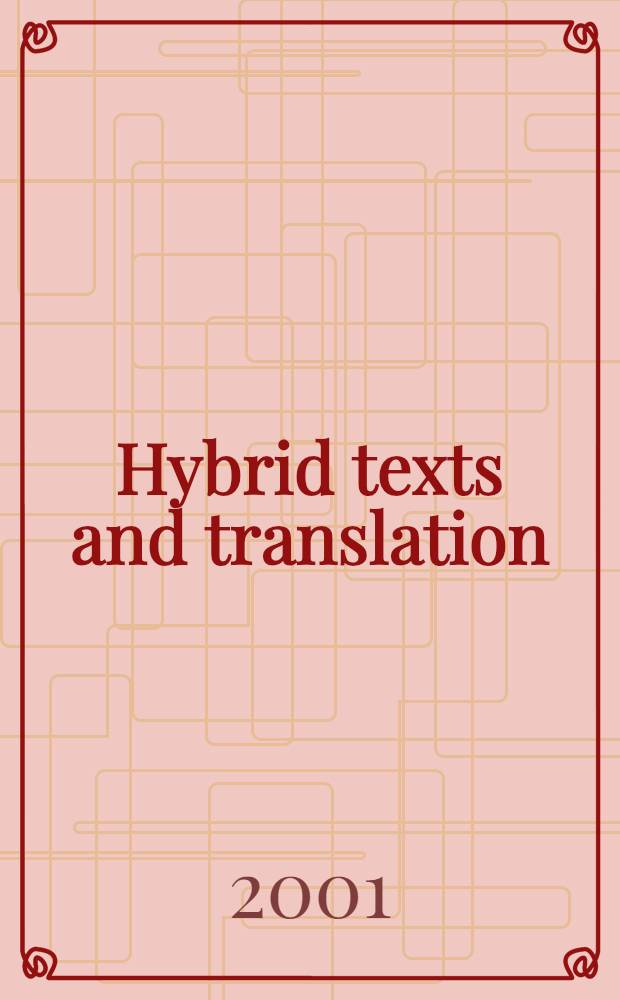 Hybrid texts and translation