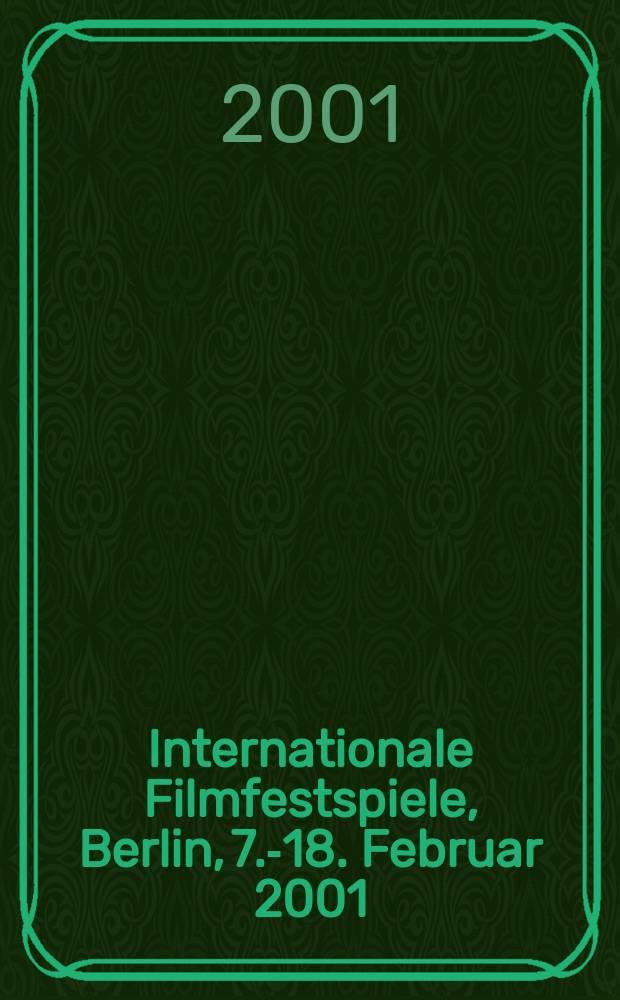 51. Internationale Filmfestspiele, Berlin, 7.-18. Februar 2001 : Dokumentation = 51. Международный кинофестиваль, Берлин, 7.-18. Февраля 2001