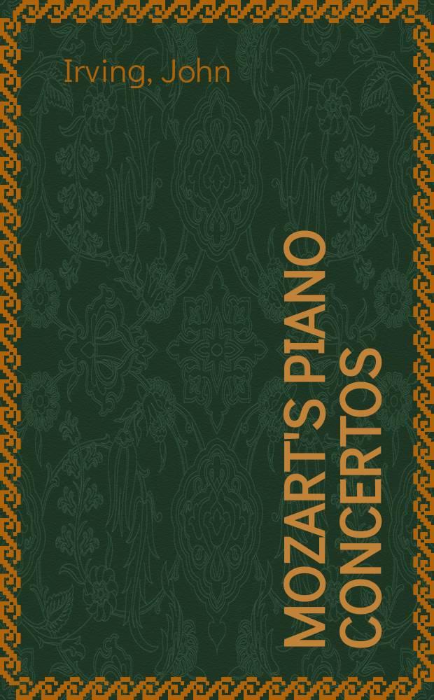 Mozart's piano concertos = Фортепианные концерты Моцарта