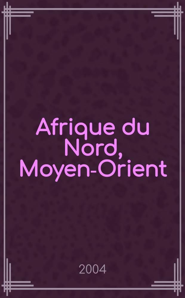 """Afrique du Nord, Moyen-Orient = Северная Африка - Ближний Восток: колебания """"большого Ближнего Востока"""""""