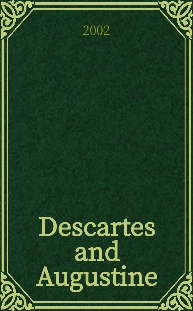 Descartes and Augustine = Декарт и Августин