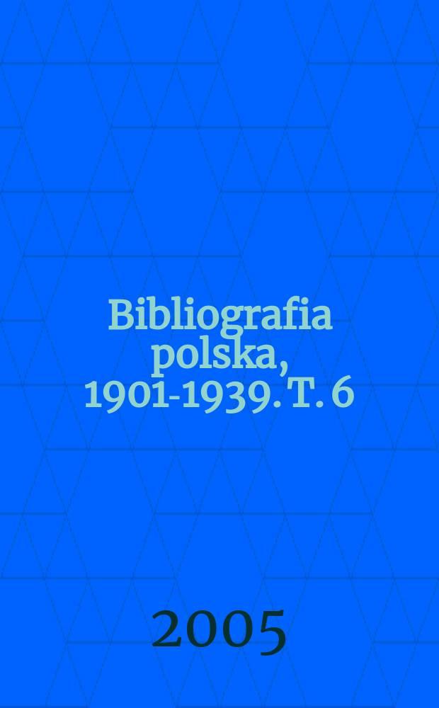 Bibliografia polska, 1901-1939. T. 6 : Do - Elb