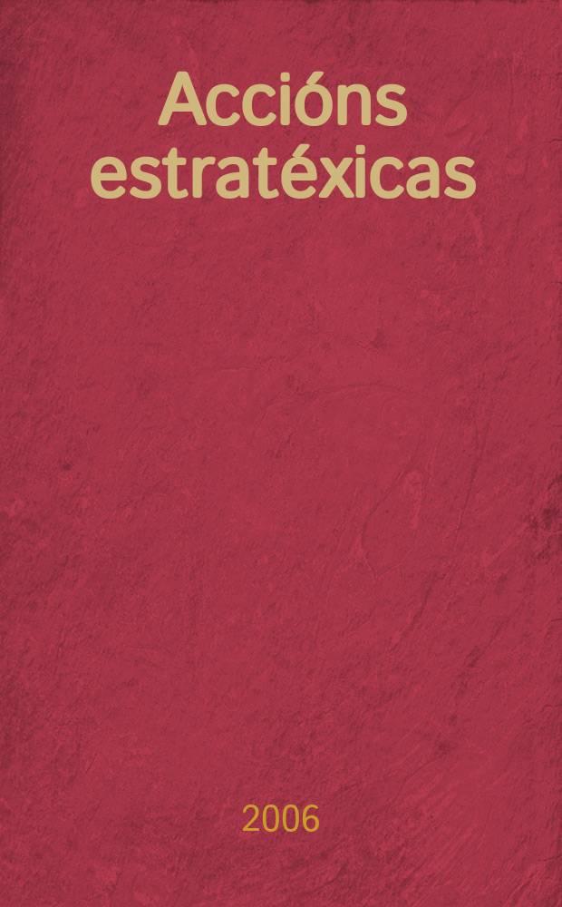 Accións estratéxicas : arte actual na Deputación provincial da Coruña = Стратегические акции. Актуальное искусство провинции Корунья