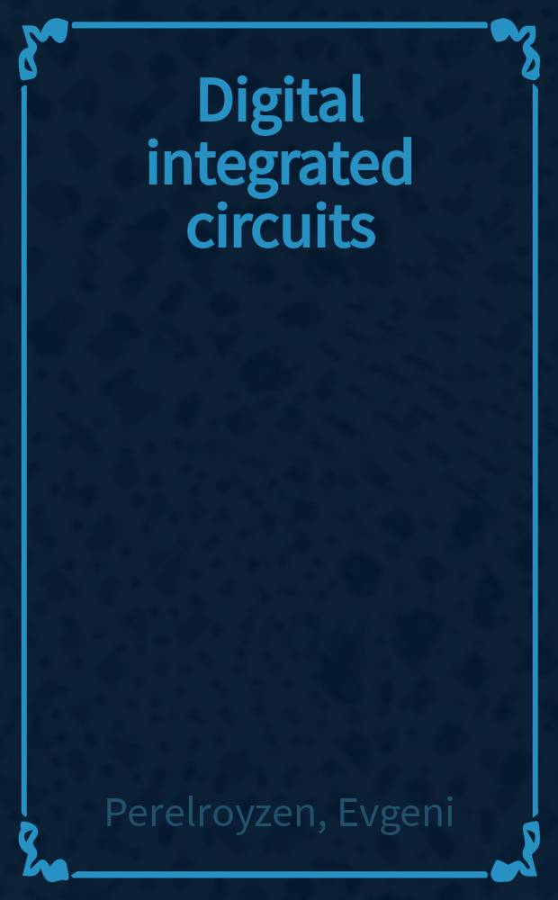 Digital integrated circuits : design-for-test uding Simulink and Stateflow