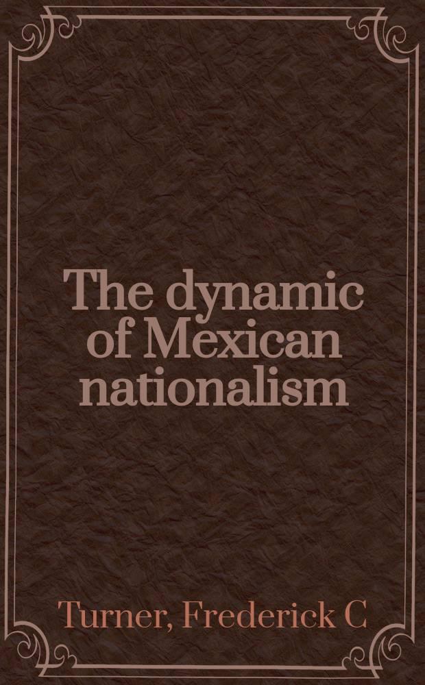 The dynamic of Mexican nationalism = Динамика мексиканского национализма