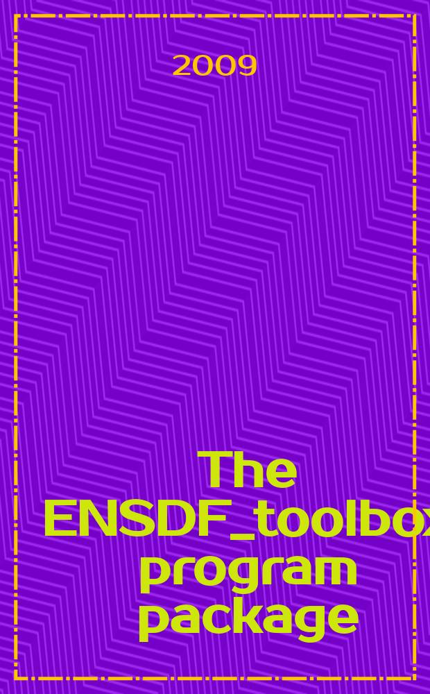 The ENSDF_toolbox program package: tool for the evaluator of nuclear data