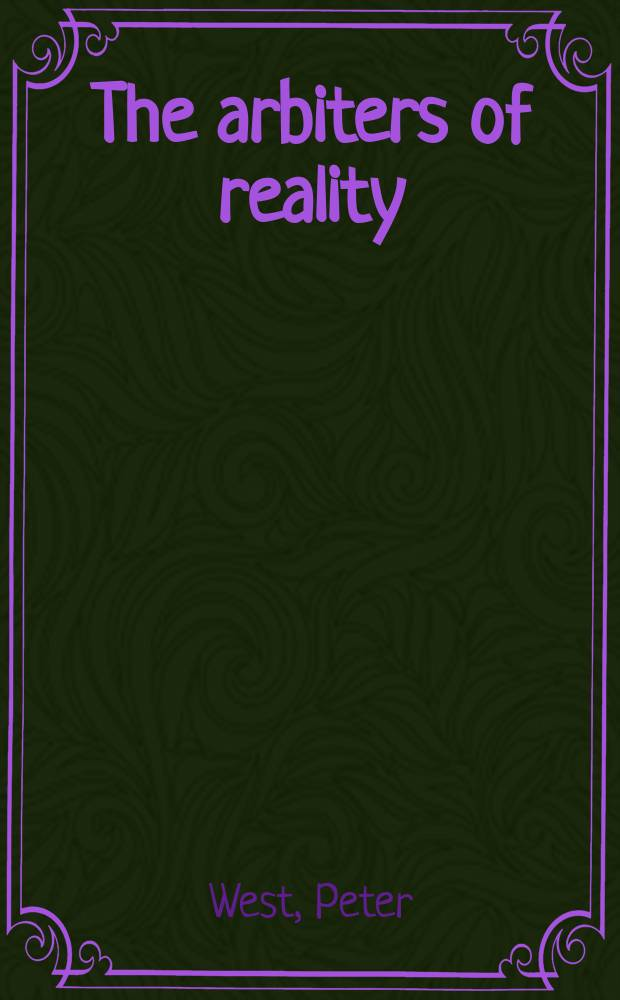 The arbiters of reality : Hawthorne, Melville, and the rise of mass information culture = Арбитры реальности:Готорн,Мелвилл и повышение роли информации массовой культуры