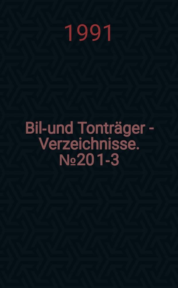 Bild- und Tonträger - Verzeichnisse. №20[1-3] : Lexikon der Fernsehspiele 1978/1987