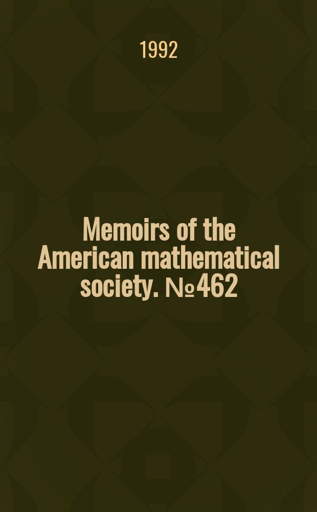 Memoirs of the American mathematical society. №462 : Singular unitary representations and discrete series ...