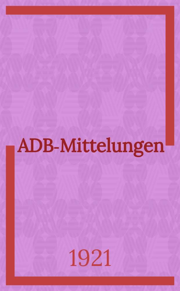 ADB-Mittelungen