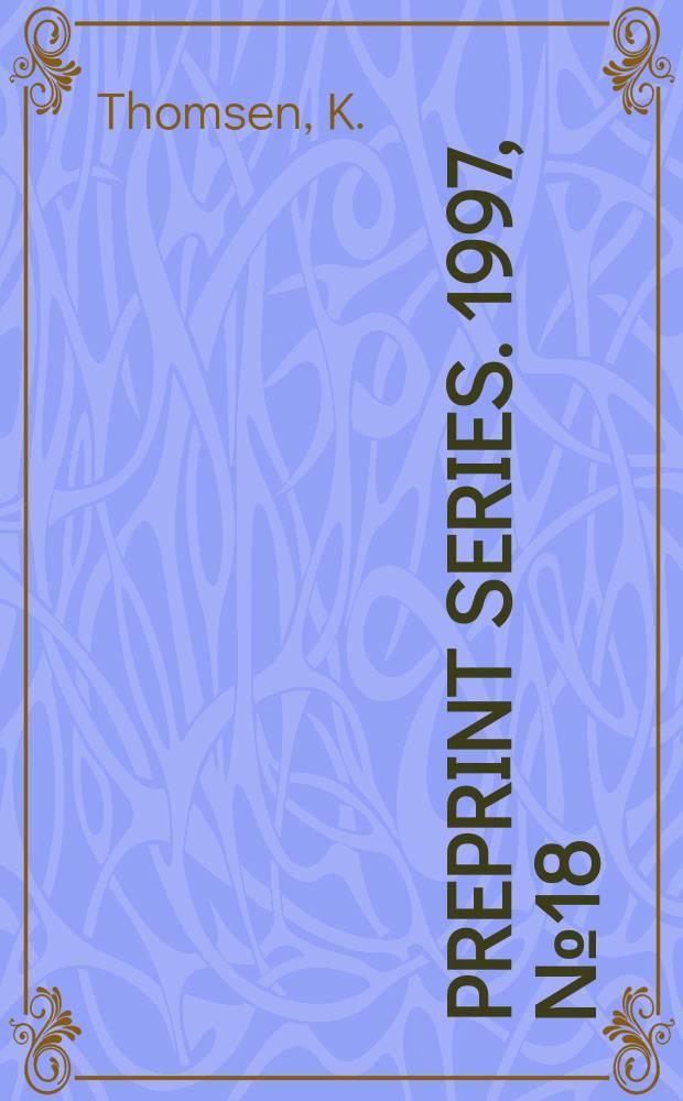 Preprint series. 1997, №18 : The universal property of equivariant KK-theory