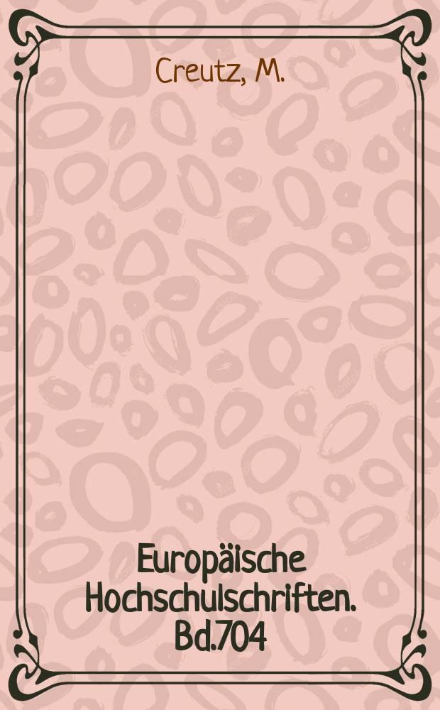Europäische Hochschulschriften. Bd.704 : Die Pressepolitik der kaiserlichen ...