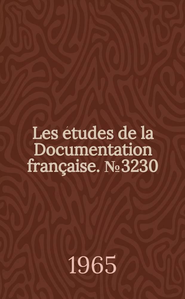 Les études de la Documentation française. №3230 : Le Cacao dans le monde