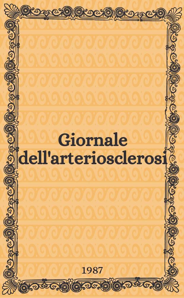 Giornale dell'arteriosclerosi : A cura della Soc. italiana di gerontologia geriatria. I Fattori di rischio dell ' arteriosclerosi in Sardegna