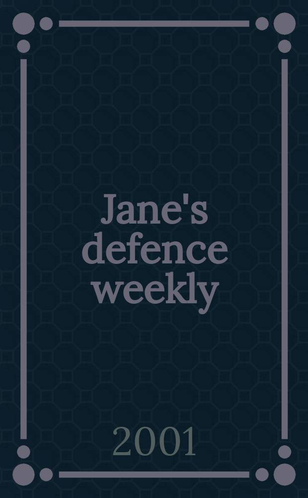 Jane's defence weekly : An intern. Thomson publ. Vol.35, №2