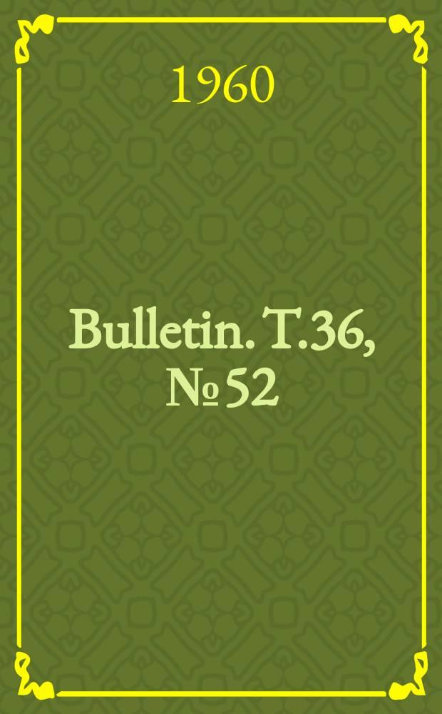 Bulletin. T.36, №52 : Étude statistique des racines pyramidales et des dents hypotaurodontes chez 80 hommes 76 femmes belges