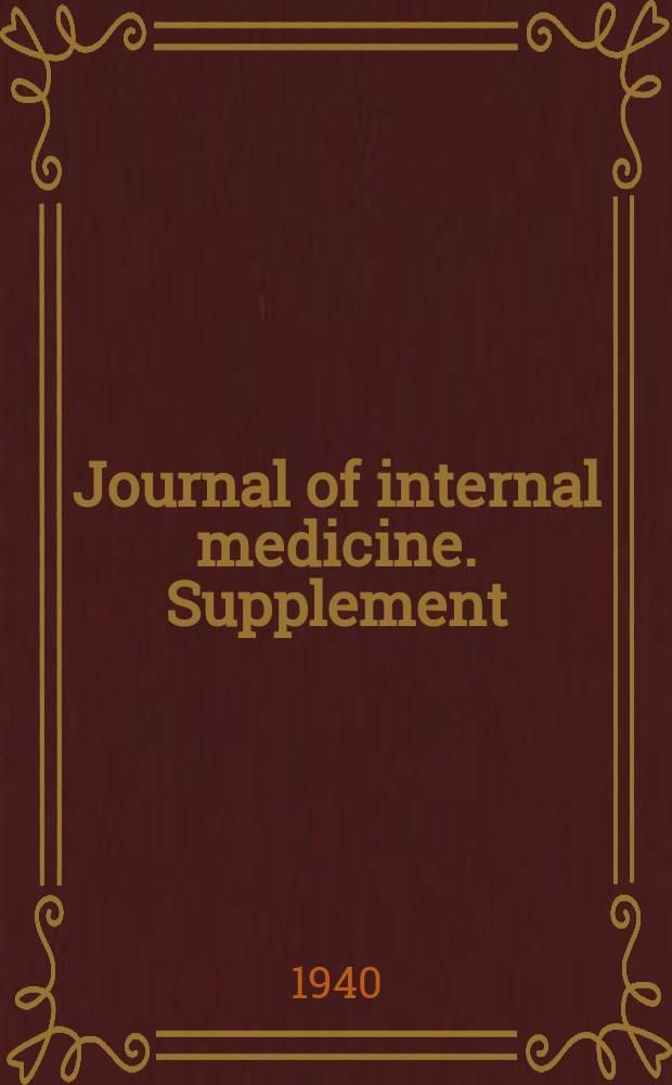 Journal of internal medicine. Supplement : Formerly: Acta medica Scandinavica. Suppl.109 : Über wahre Metachromasie der weissen Blutkörperchen