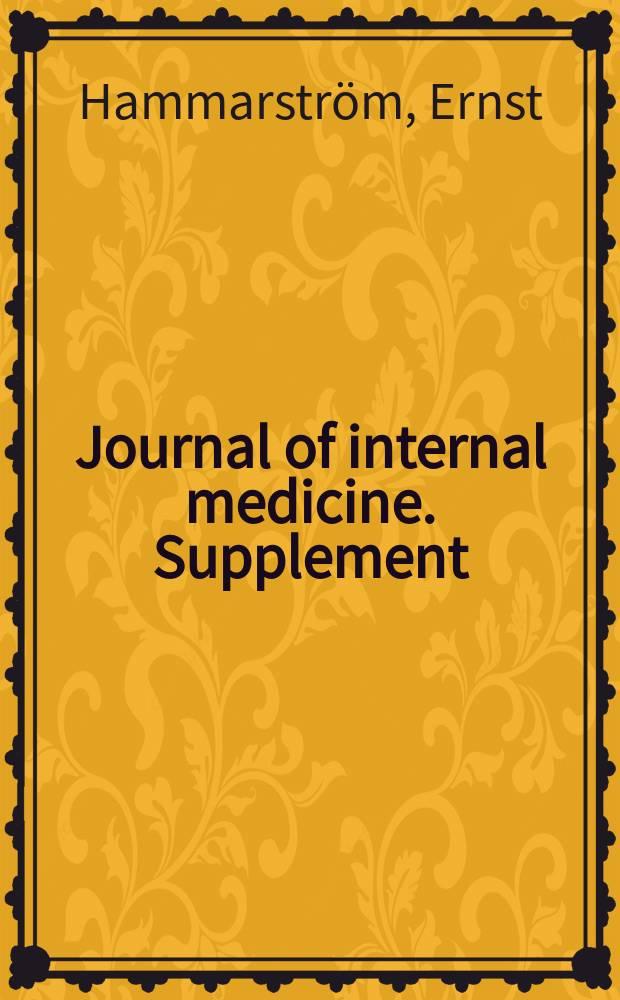 Journal of internal medicine. Supplement : Formerly: Acta medica Scandinavica. Suppl.223 : Phage-typing of Shigella sonnei