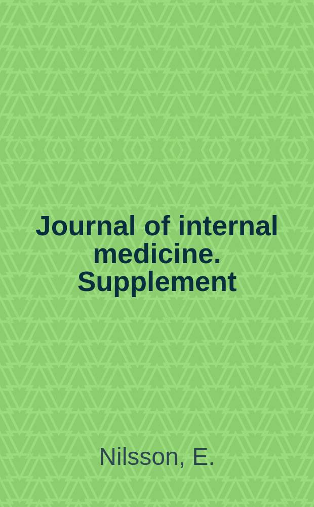 Journal of internal medicine. Supplement : Formerly: Acta medica Scandinavica. Suppl.253 : On treatment of barbiturate poisoning