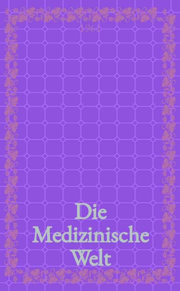 Die Medizinische Welt : Ärztliche Wochenschrift. 1961, №12