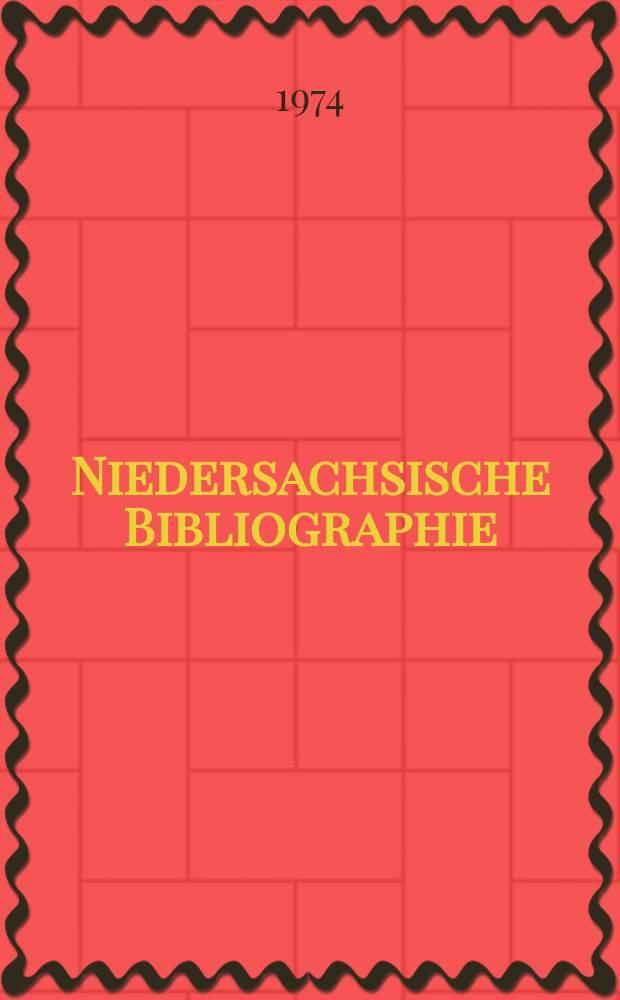Niedersachsische Bibliographie : Hrsg. von der Niedersächsischen Landesbibliothek Hannover : Berichtsjahr ..