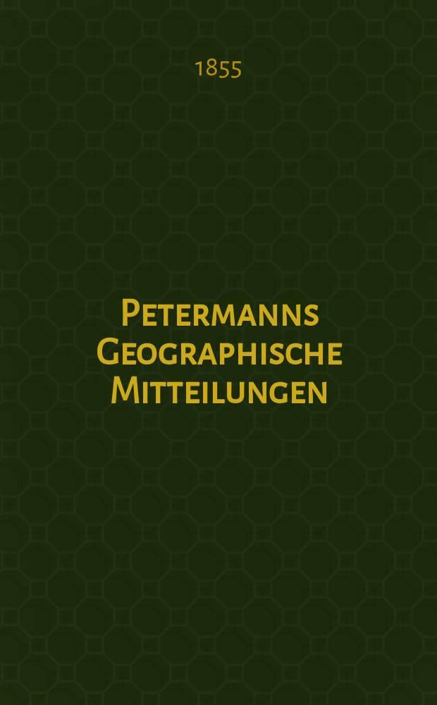 Petermanns Geographische Mitteilungen