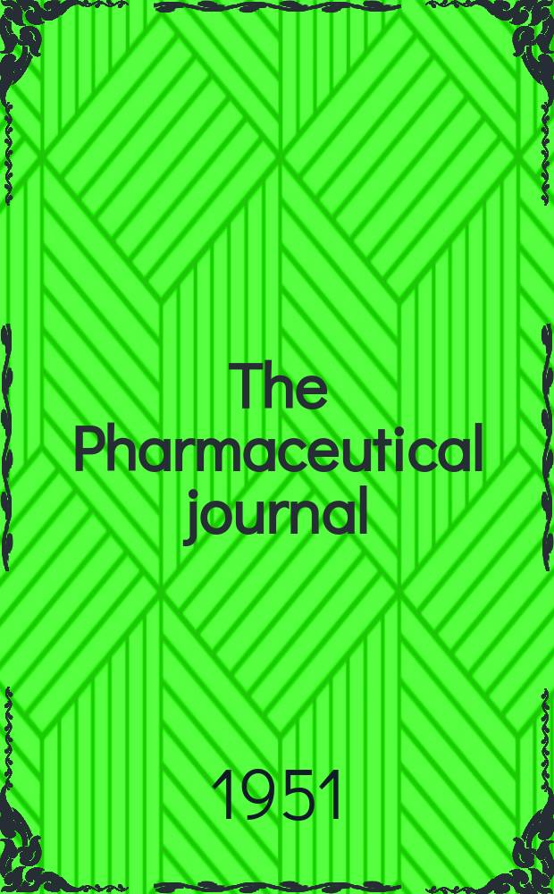 The Pharmaceutical journal : A weekly record of pharmacy and allied sciences Establ. 1841. Vol.112 (166), №4568