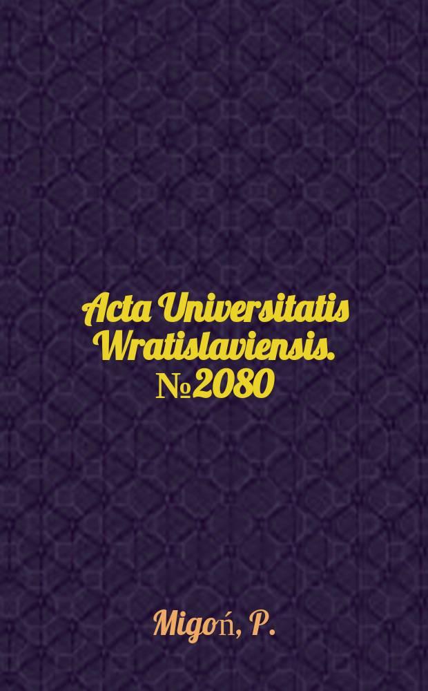Acta Universitatis Wratislaviensis. №2080 : Długookresowa ewolucja rzeźby denudacyjnej..