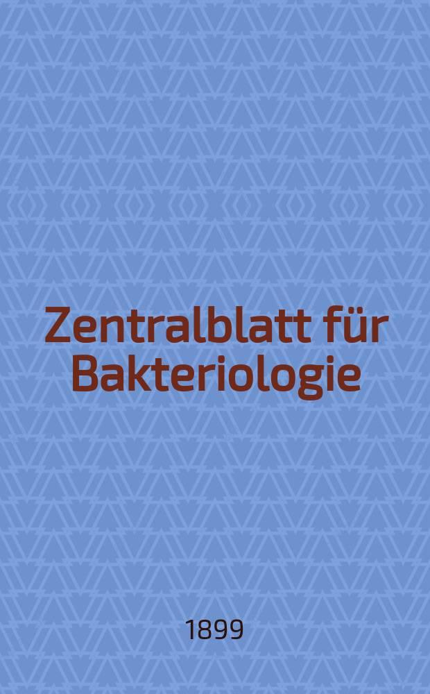Zentralblatt für Bakteriologie : Med. microbiology, virology, parasitology, infectious diseases. Bd.26, №9