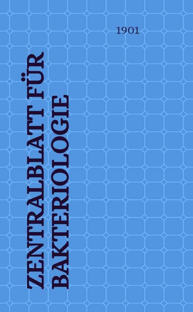 Zentralblatt für Bakteriologie : Med. microbiology, virology, parasitology, infectious diseases. Bd.30, №14