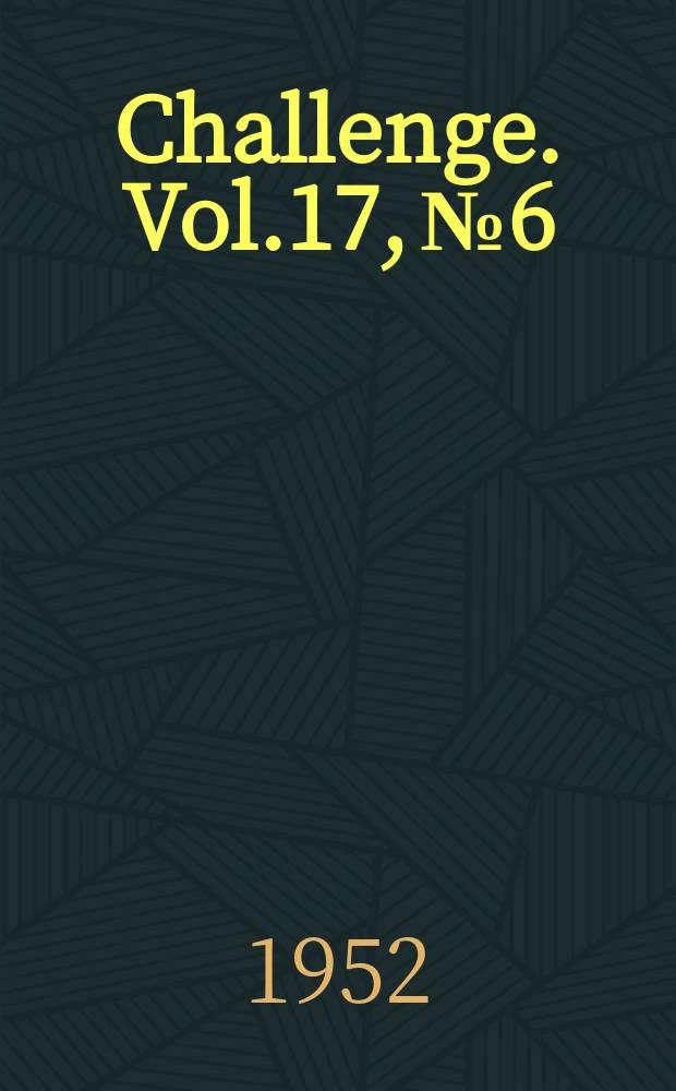 Challenge. Vol.17, №6