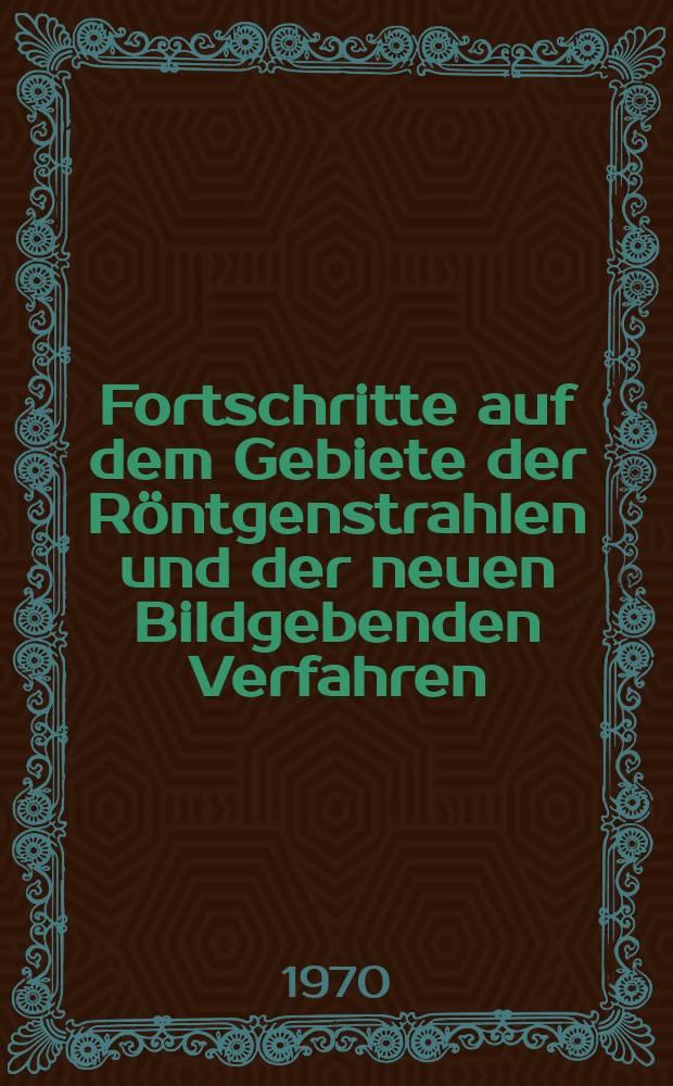 Fortschritte auf dem Gebiete der Röntgenstrahlen und der neuen Bildgebenden Verfahren : Organ der Dt. Röntgenges Organ der Österreichischen Röntgenges. Bd.113, H.3