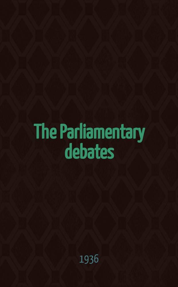 The Parliamentary debates (Hansard) : Official report ... of the ...Parliament of the United Kingdom of Great Britain and Northern Ireland. Vol.308, №32