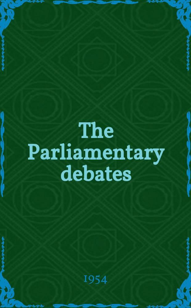 The Parliamentary debates (Hansard) : Official report ... of the ...Parliament of the United Kingdom of Great Britain and Northern Ireland. Vol.526, №98