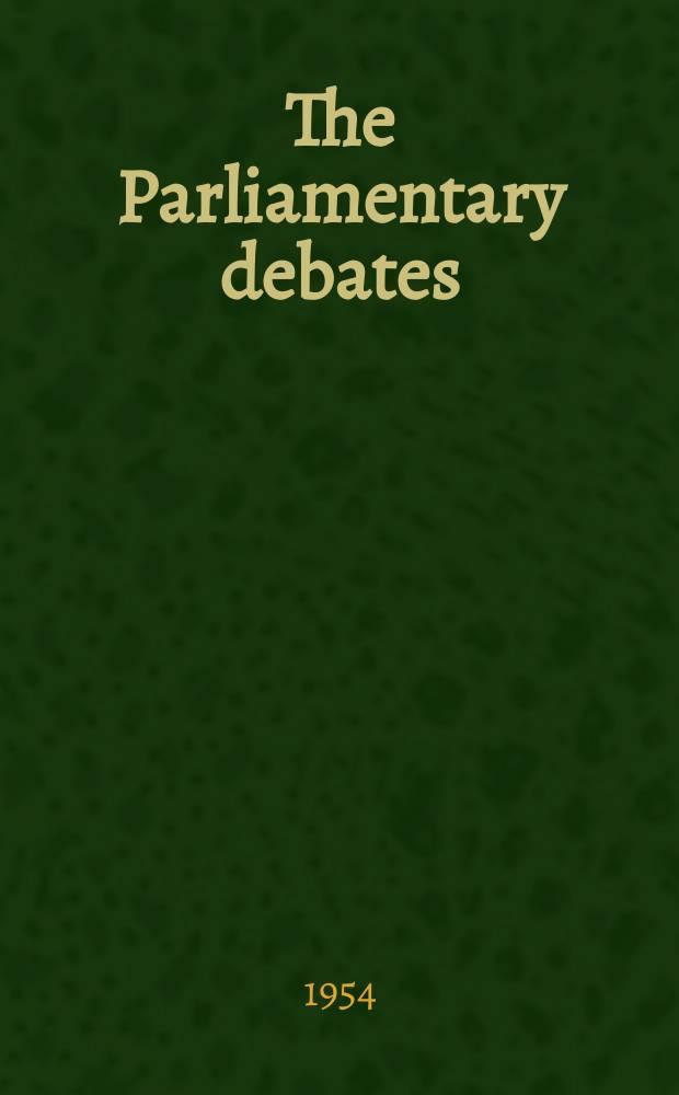 The Parliamentary debates (Hansard) : Official report ... of the ...Parliament of the United Kingdom of Great Britain and Northern Ireland. Vol.527, №110