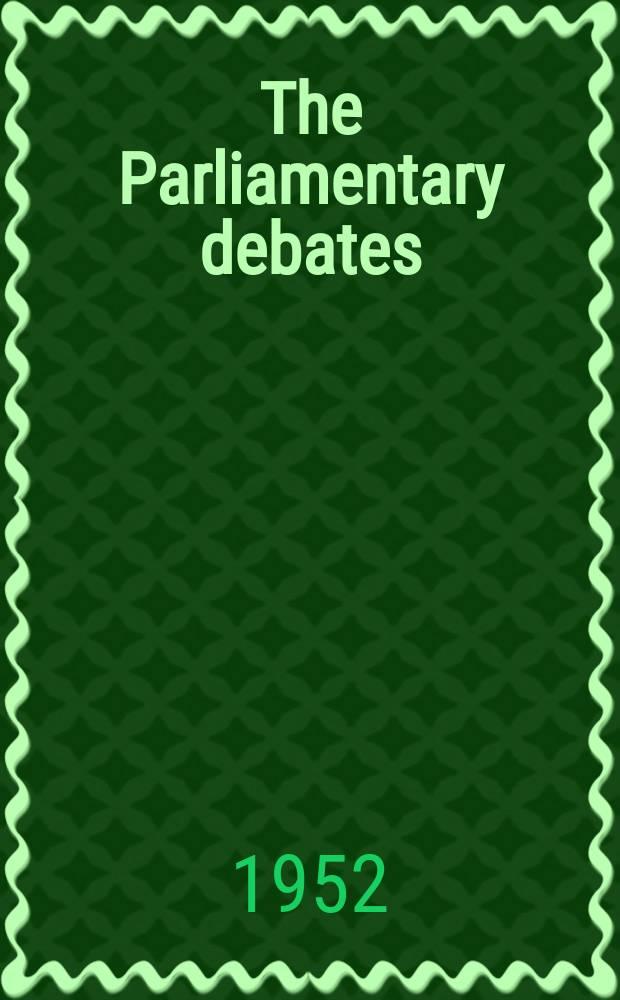 The Parliamentary debates (Hansard) : Official report ... of the ...Parliament of the United Kingdom of Great Britain and Northern Ireland. Vol.503, №127