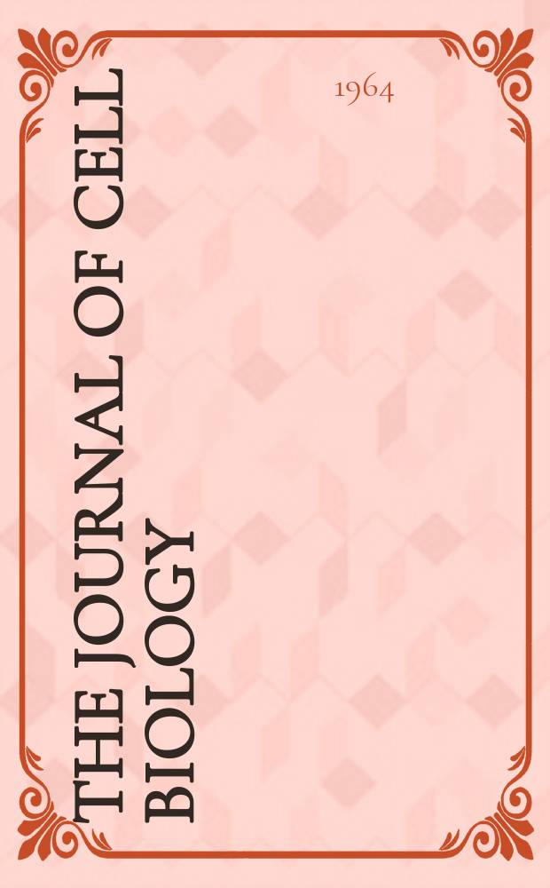 The Journal of cell biology : Formerly the Journal of biophysical and biochemical cytology. Vol.20, №1