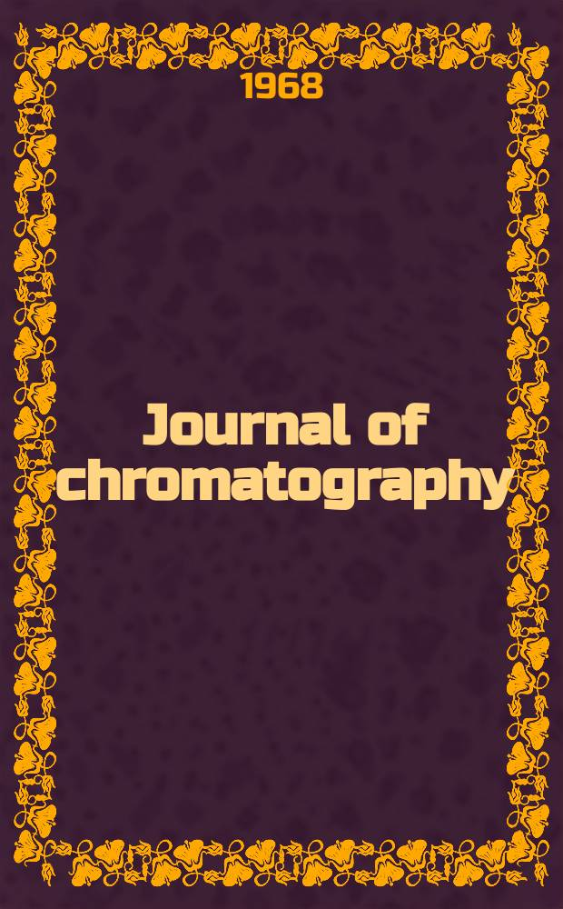 Journal of chromatography : Intern. journal on chromatography, electrophoresis and related methods. Vol.32, №3