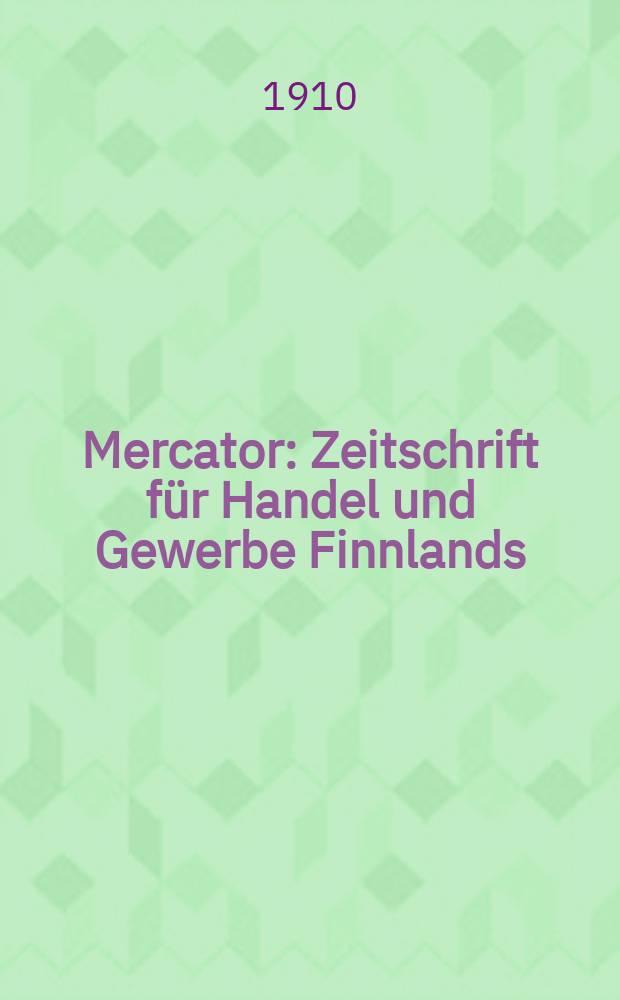 Mercator : Zeitschrift für Handel und Gewerbe Finnlands