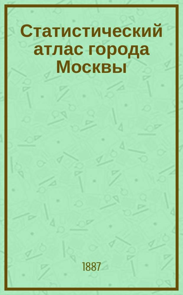 Статистический атлас города Москвы