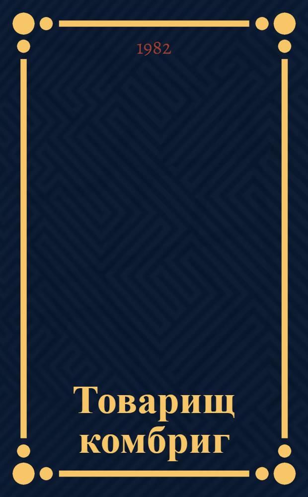 Товарищ комбриг : Докум. повесть о Герое Сов. Союза М.П. Яковлеве