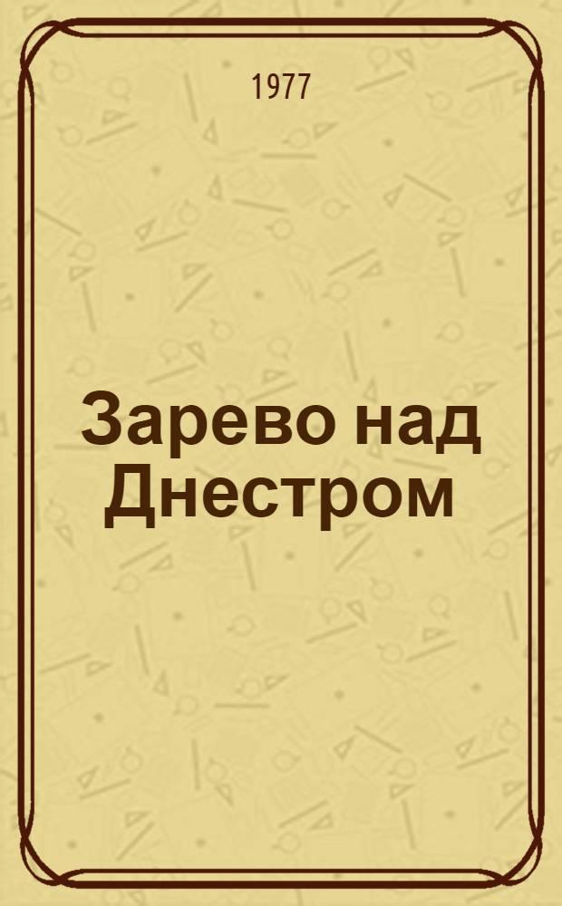 Зарево над Днестром : Роман