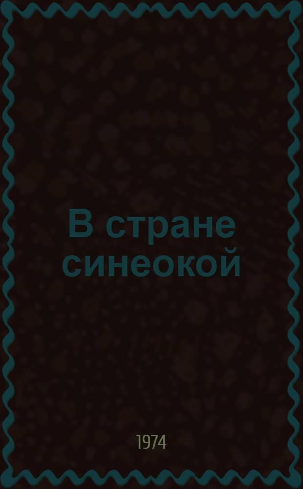 В стране синеокой : Роман