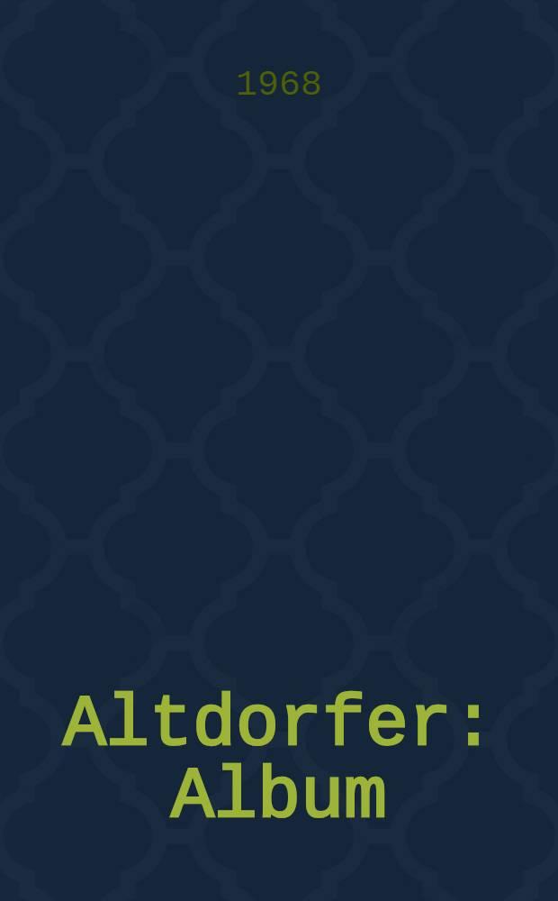 Altdorfer : Album