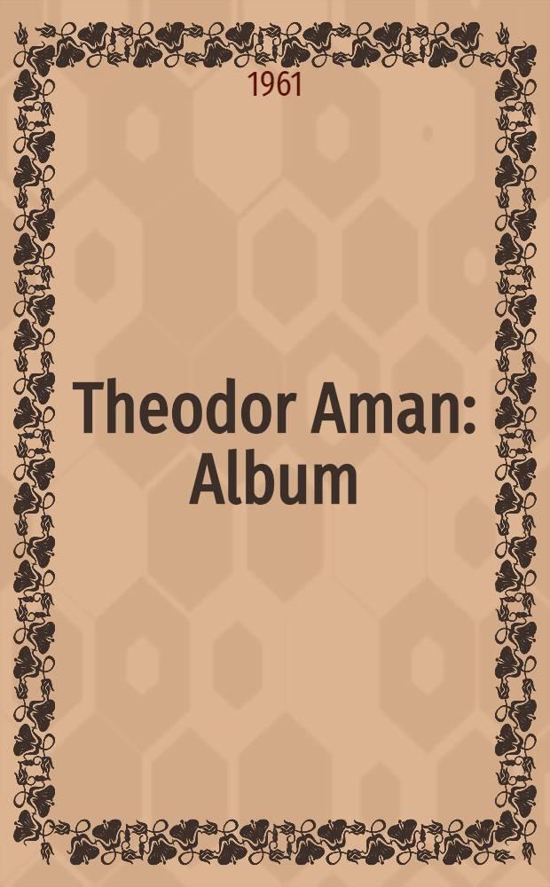Theodor Aman : Album