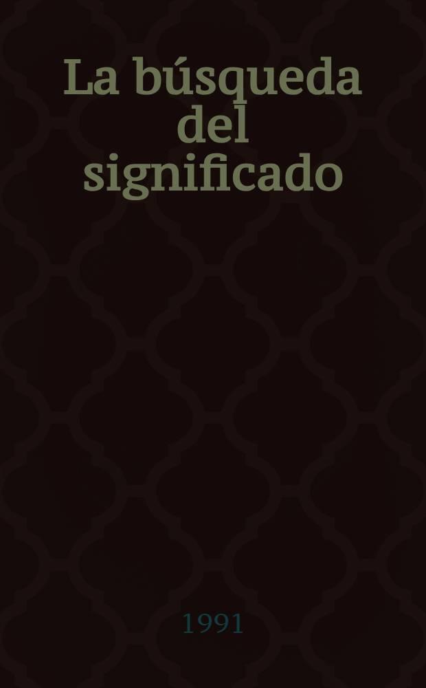 La búsqueda del significado : Lecturas de filosofía del lenguaje