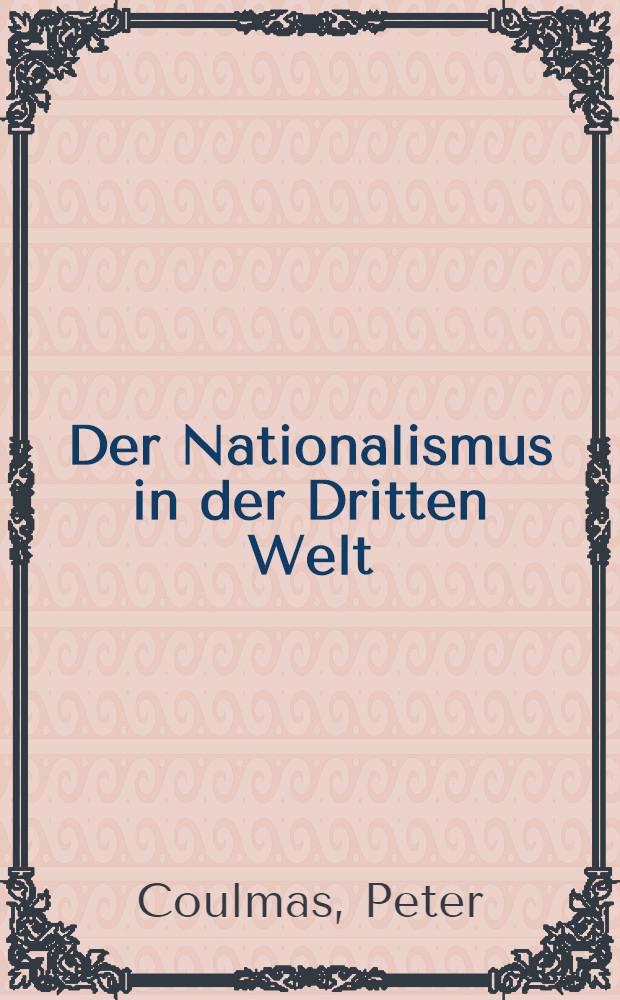 Der Nationalismus in der Dritten Welt
